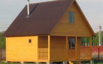 Как сделать двухскатную крышу?