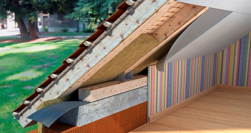 Утеплитель для мансардной крыши
