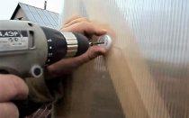 Термошайбы для крепления поликарбоната