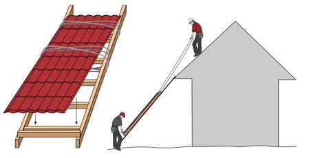 Подробное руководство крепления профнастила на крыше