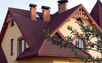 Проект крыши дома с мансардой