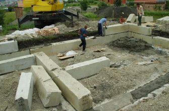 Глубина фундамента для одноэтажного дома