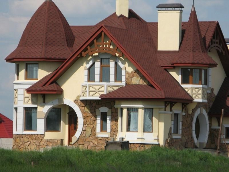 Отделочные материалы для фасада частного дома