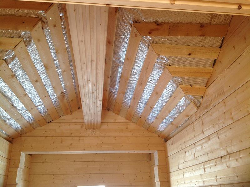 Как утеплить изнутри крышу дома