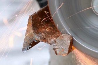диск для болгарки по металлу