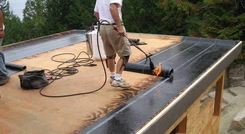 Гидроизоляция крыши гаража своими руками