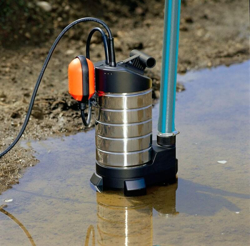 Как выбрать насос для грязной воды