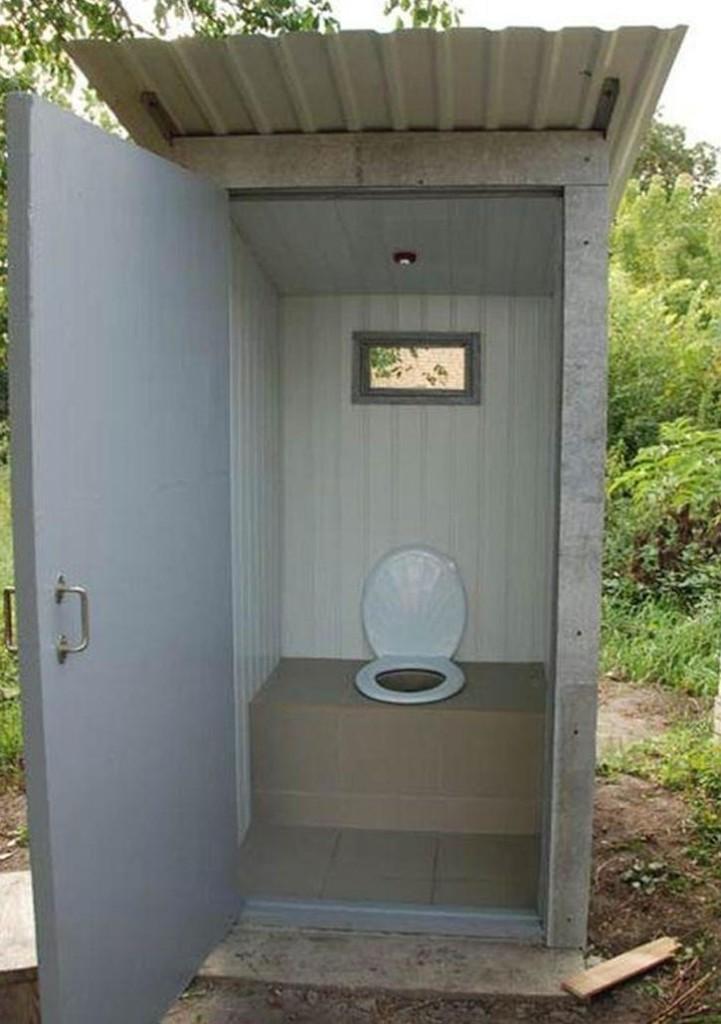 Уличный туалет своими руками