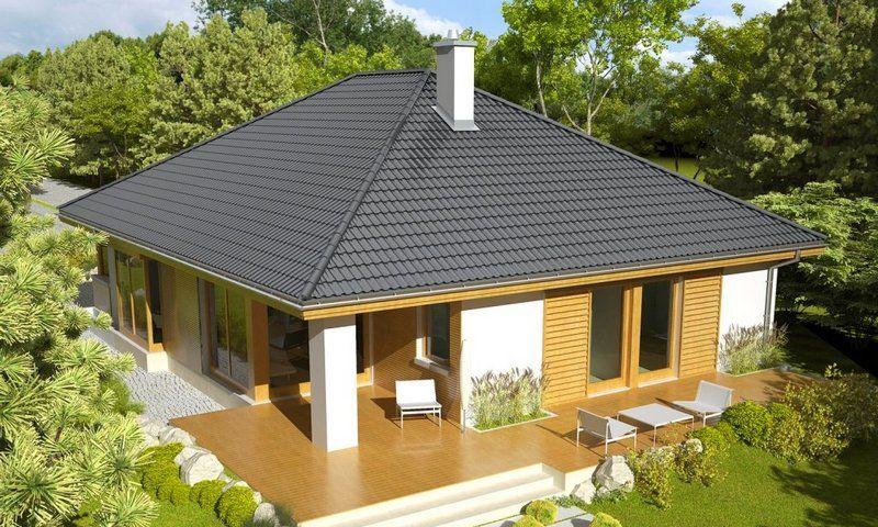 Разновидности вальмовой крыши